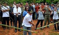 Wabup Sekadau Buka Lomba Desa Tingkat Kabupaten di Sebetung