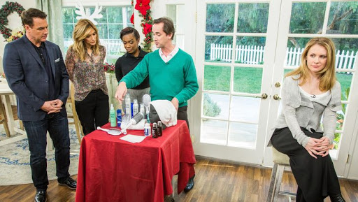 Holiday beauty tips Billy Lowe Home and Family