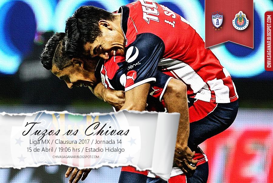 Liga MX : CF Pachuca vs CD Guadalajara - Clausura 2017 - Jornada 14.