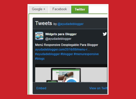 Widgets para Blogger – Multi Tabla