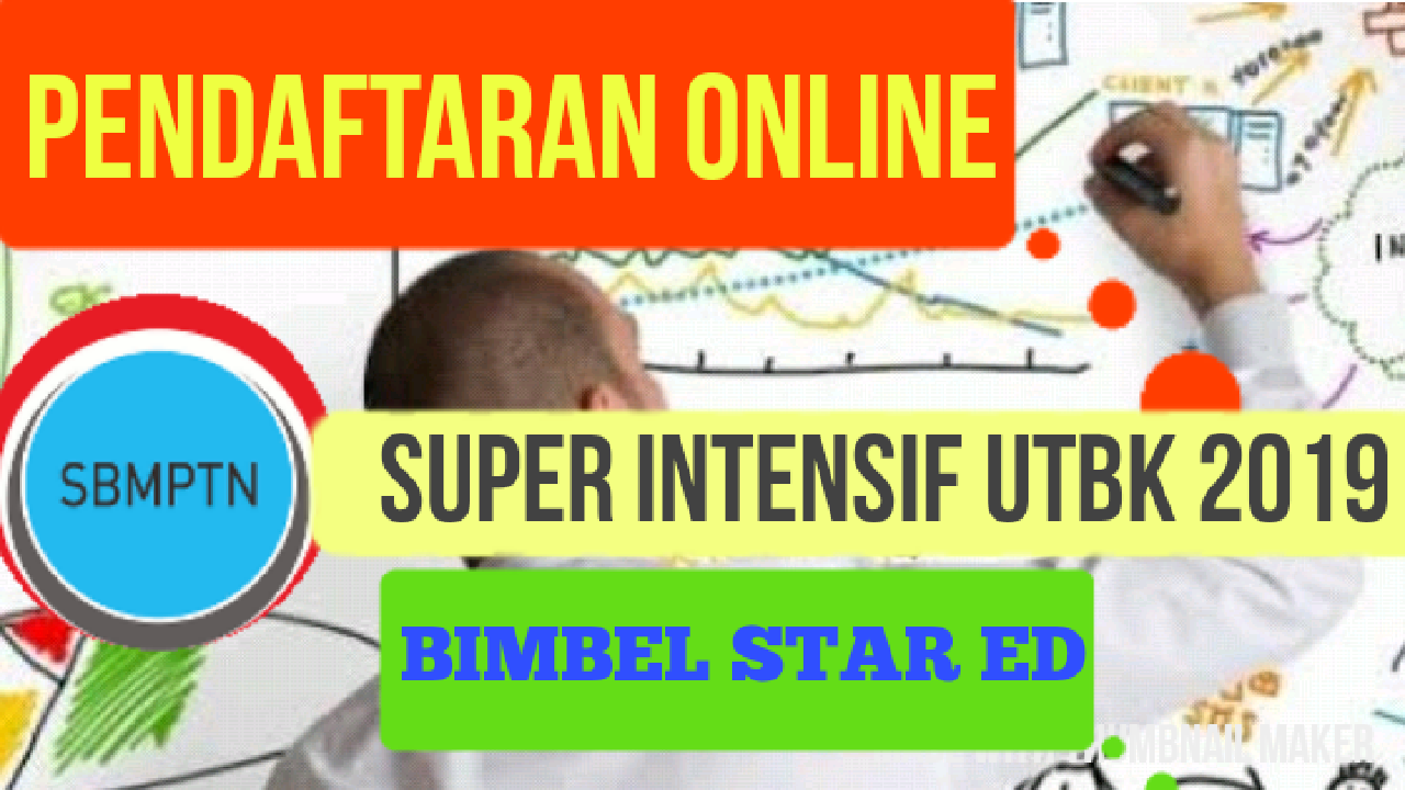 PROGRAM SUPER INTENSIF FOKUS LULUS UTBK SBMPTN 2019 BERSAMA BIMBEL
