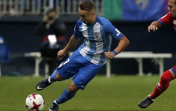 Oficial: El Málaga cede a Ontiveros al Valladolid