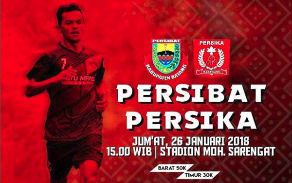 Friedly Match Persibat Batang vs Persika Karawang