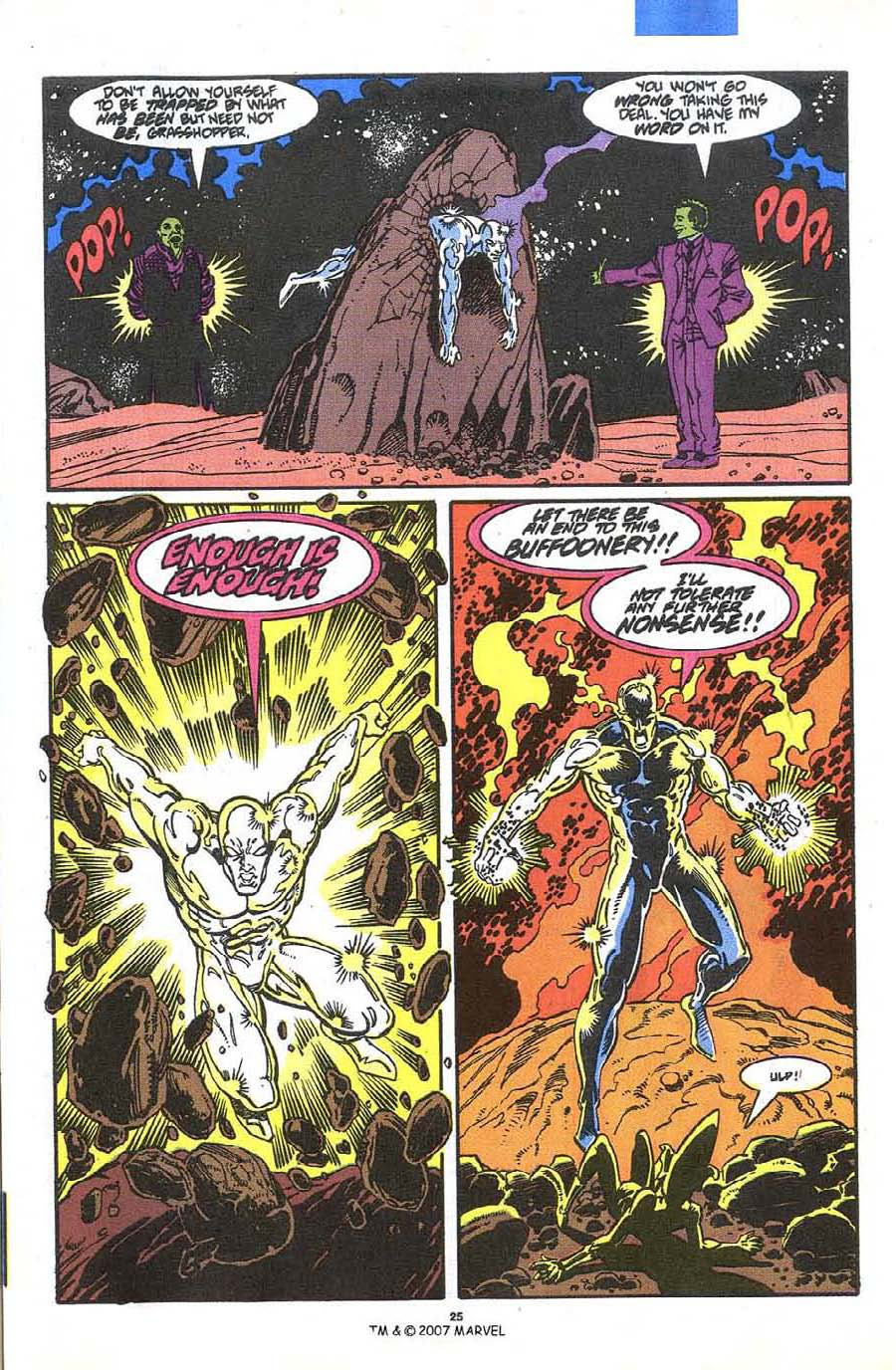 Read online Silver Surfer (1987) comic -  Issue #36 - 27