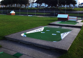 The Masters Crazy Golf course in Southport