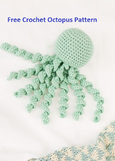 Free Crochet Pattern Octopus for Baby