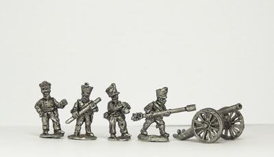 NPR12   6pdr guns with line crew