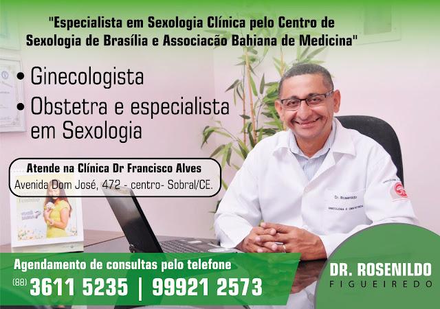 Nosso Colaborador - Dr. Rosenildo Figueiredo (Ginecologista Obstetra Especialista em Sexologia Clínica)