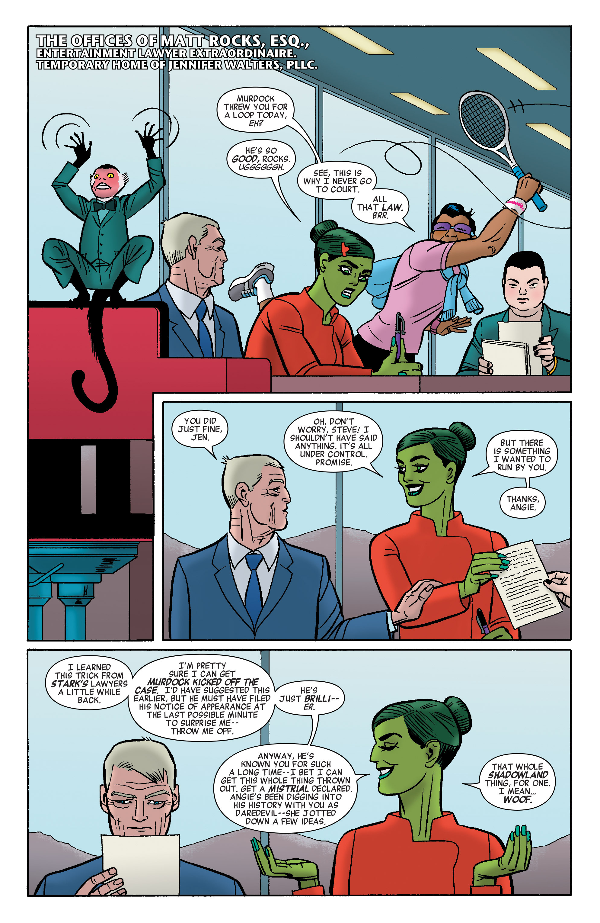 Read online She-Hulk (2014) comic -  Issue #9 - 11
