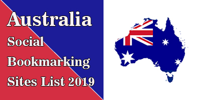 Australian Social Bookmarking Sites List 2019