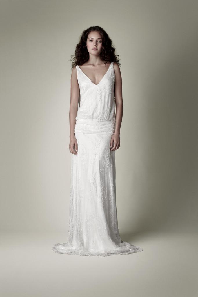 Conosciuto Storm in a TeaCup: L'abito da sposa dal gusto vintage anni '20 CL46