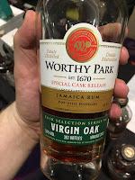 Worthy Park – Special Cask Release – Virgin Oak – Vintage 2003 – 55%