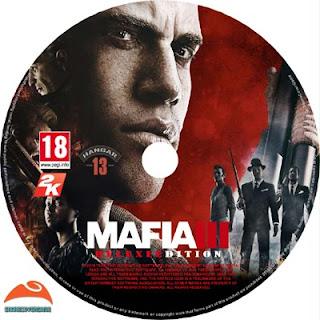 Mafia III Deluxe Edition Disc Label