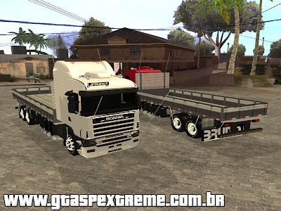 Scania 124g R400 Truck para GTA San Andreas