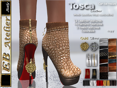 https://marketplace.secondlife.com/p/EB-Atelier-Tosca-Booties-platform-12-LEATHER-TEXTURES-colorable-by-HUD-italian-designer/5741414