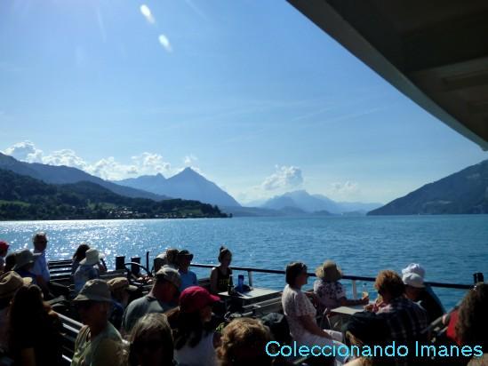 Crucero gratis por el lago Thun