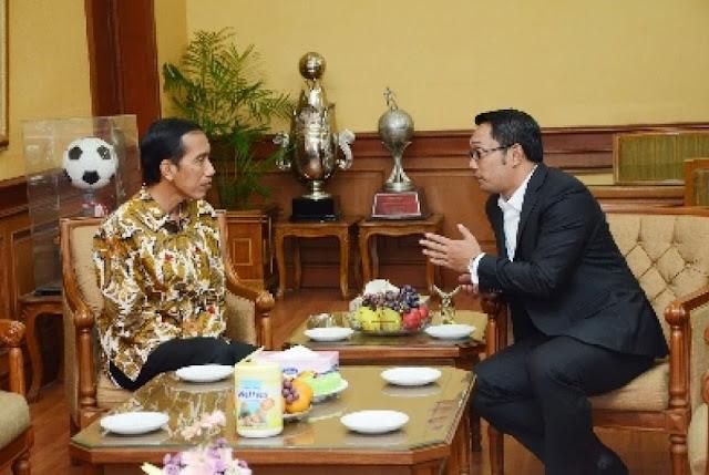 Ketika Ridwan Kamil Memuji Jokowi, Ridwan Kamil: Jokowi Merakyat, Bersikap Membumi