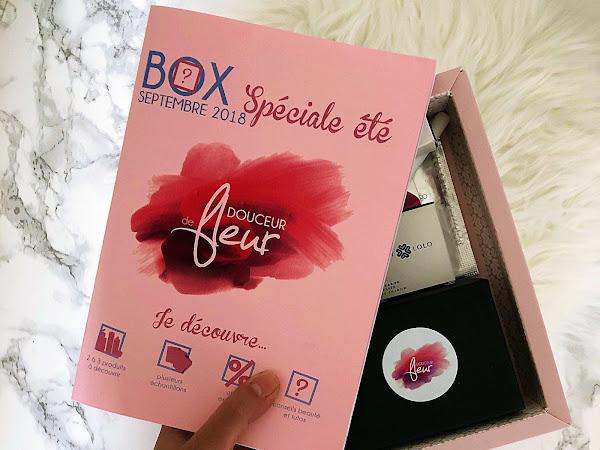 Une Box Lorraine ? Box Beauté Homemade de Douceur de Fleur