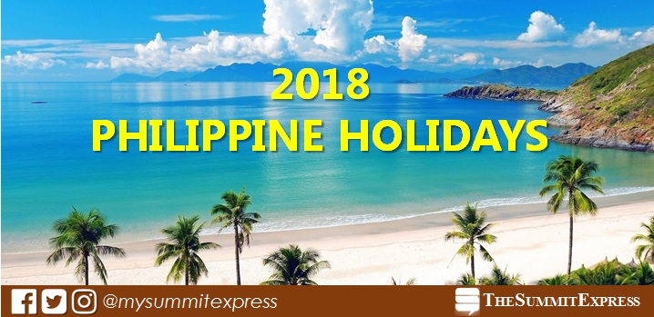 LIST: Regular, Special Holidays in the Philippines 2018
