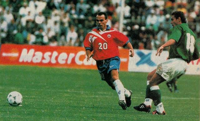 Bolivia y Chile en Clasificatorias a Francia 1998, 12 de febrero de 1997