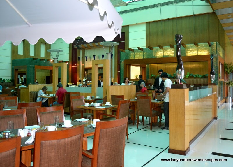Around The World restaurant in Ramada Jaipur