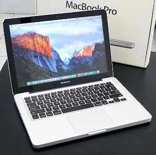 MacBook Pro MD101 Core i5 13-inchi Late 2012 Fullset