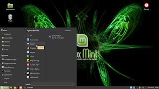 Penjelasan Start Menu di Linux Mint 18 Sarah