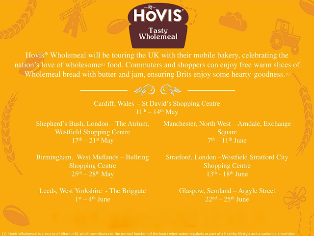 Stop Loafing Around And Pop Along To Visit The Hovis Wholemeal Mobile Bakery Whilst It Is On Tour In The Uk To Enjoy Some Tasty Hovis Wholemeal Bread And