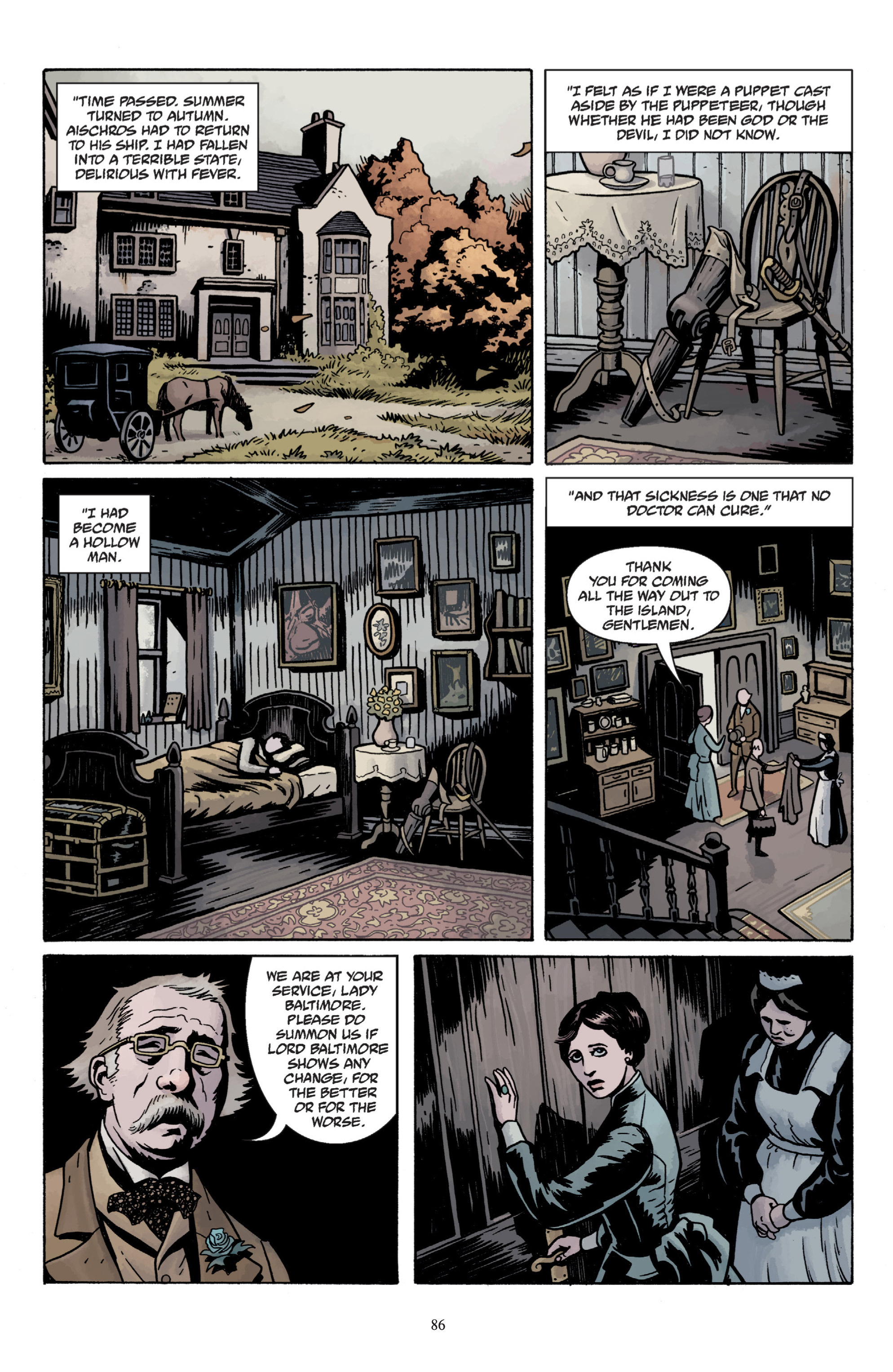 Read online Baltimore: The Plague Ships comic -  Issue # TPB - 88