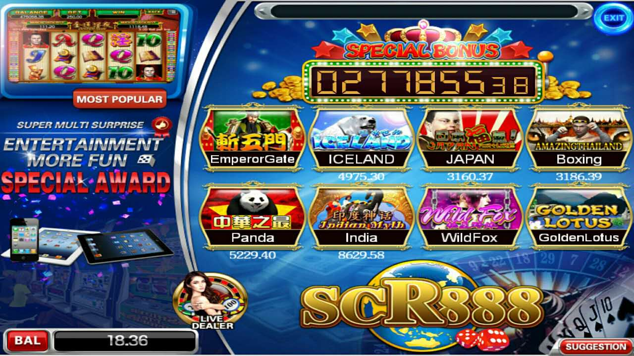 mesin slot kelab kasino