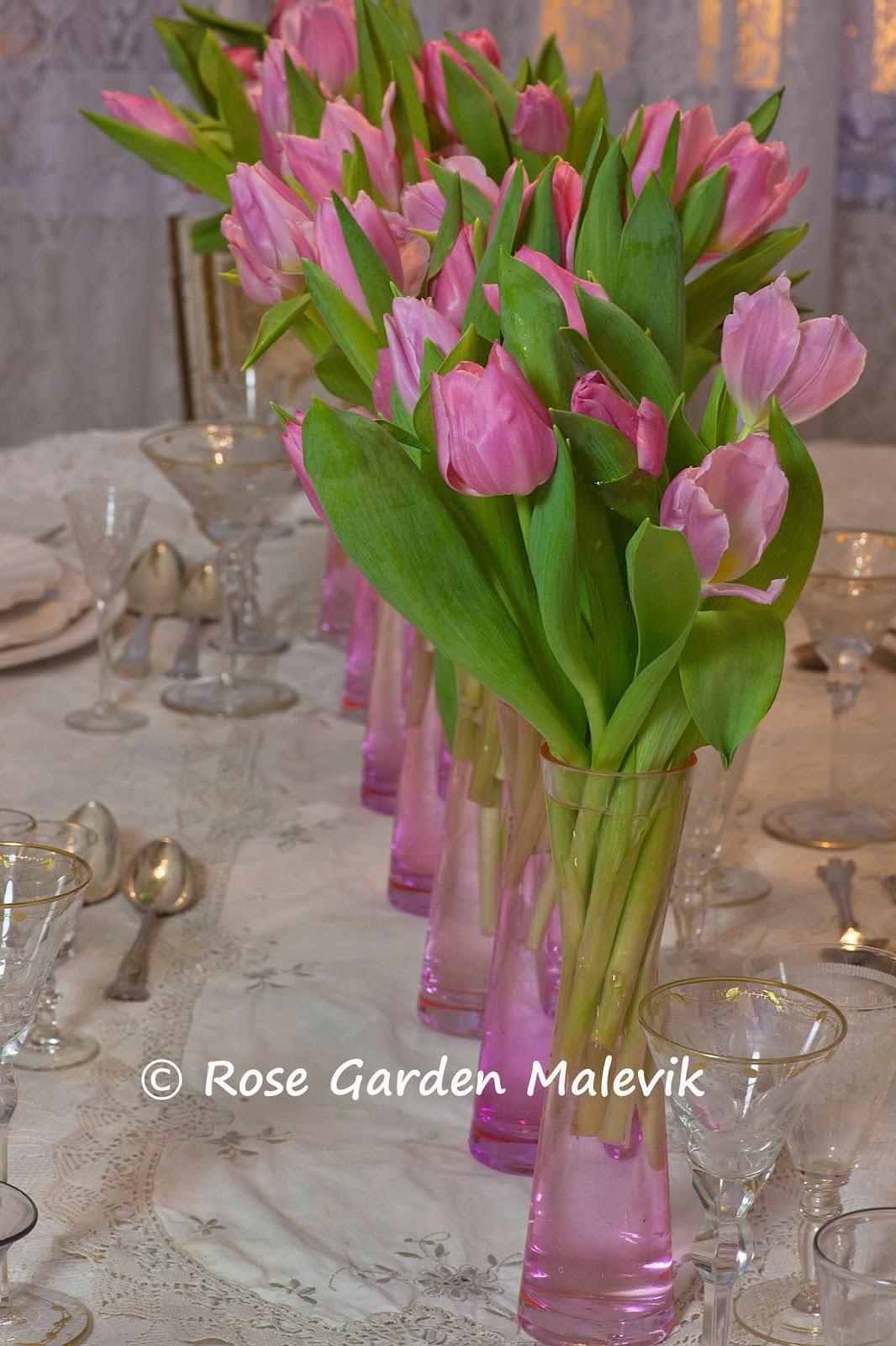 ROSE GARDEN Malevik: Arrangera Tulpaner ~ Arrangemensts for Tulips