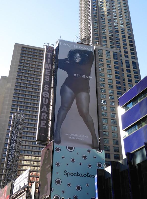 Lane Bryant This Body Danielle Brooks billboard