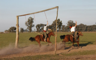 Gauchos at an estancia