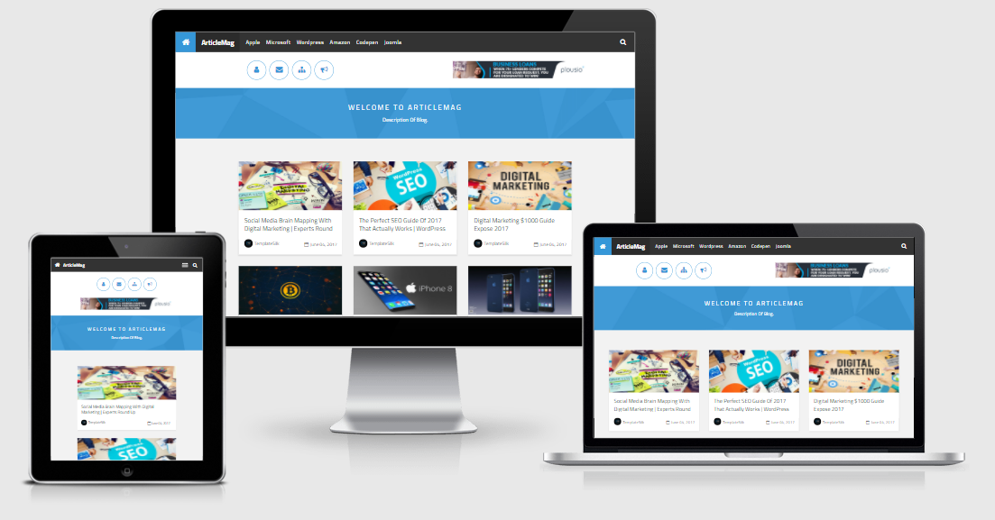 ArticleMag Blogger Theme