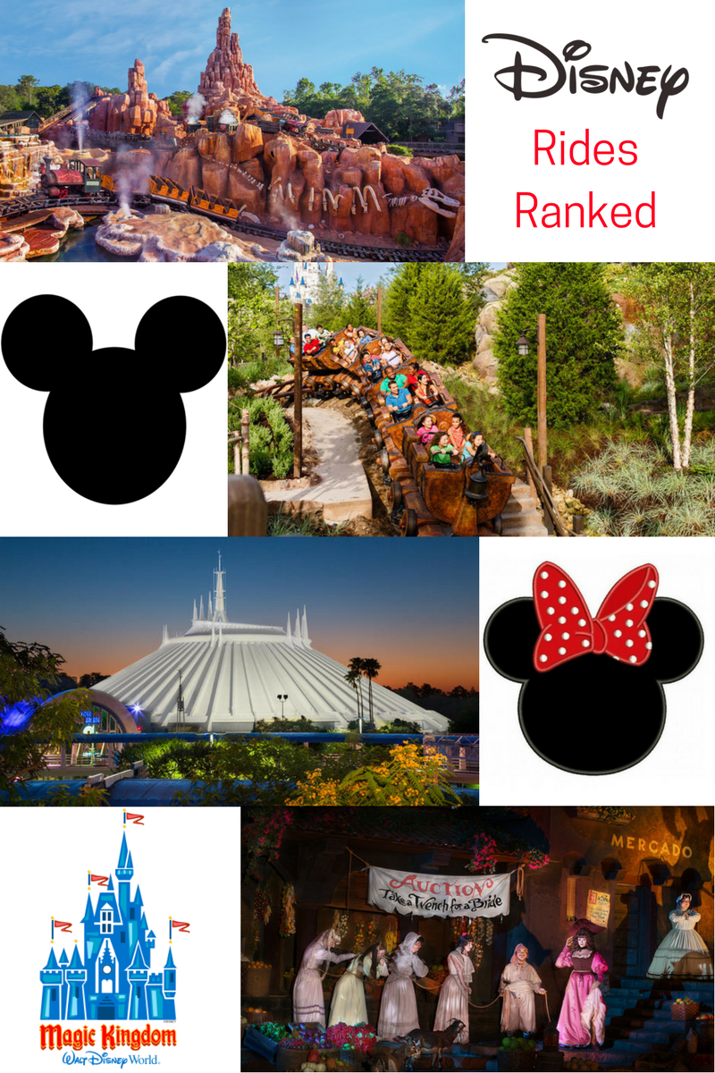 Disney's Magic Kingdom Rides Ranked