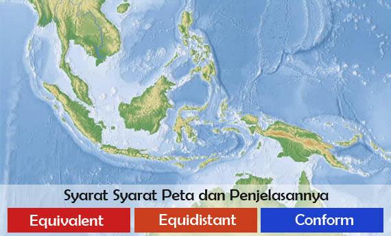 Syarat Syarat Peta