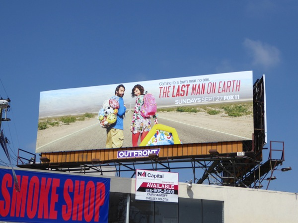 Last Man on Earth season 2 billboard