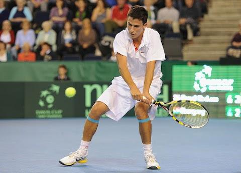 Tuniszi tenisztorna - Balázs Attila a negyeddöntőben búcsúzott