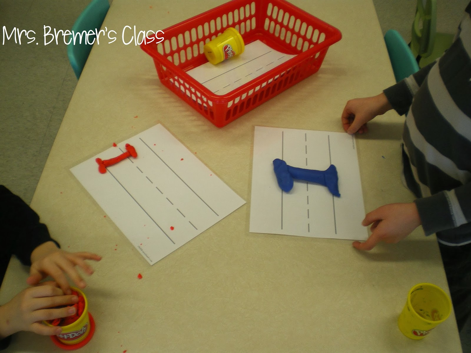 Playdoh Sight Words And More Literacy Work Stations