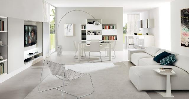 La scelta del pavimento perfetto nel total white