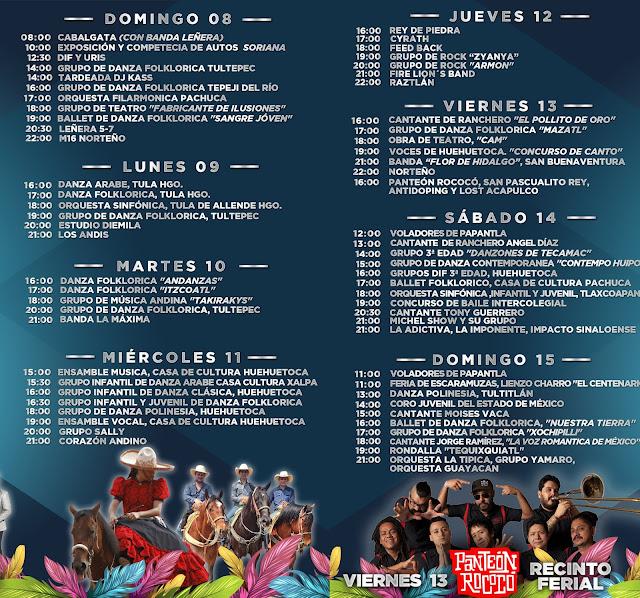 programa feria huehuetoca 2018