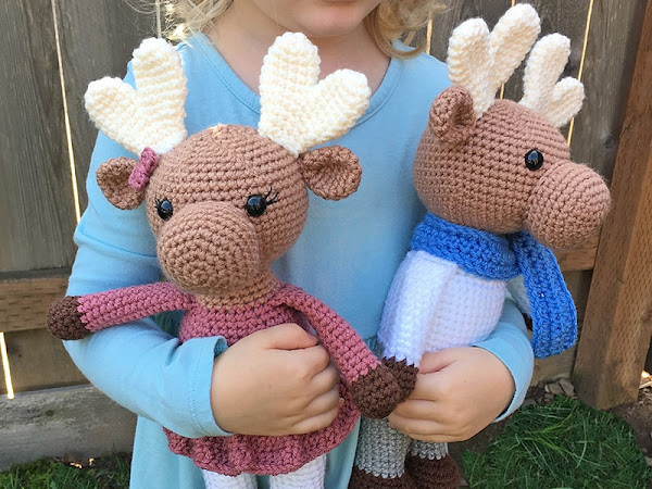Amigurumi Moose CAL Part 1