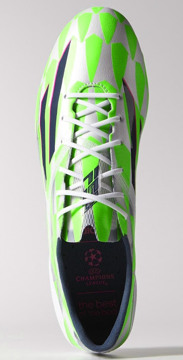 a496509cf17 White   Green Adidas F50 Adizero 14-15 Boot Released - Footy Headlines