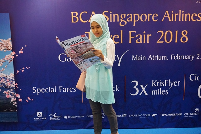 BCA-Singapore Airlines Travel Fair 2018