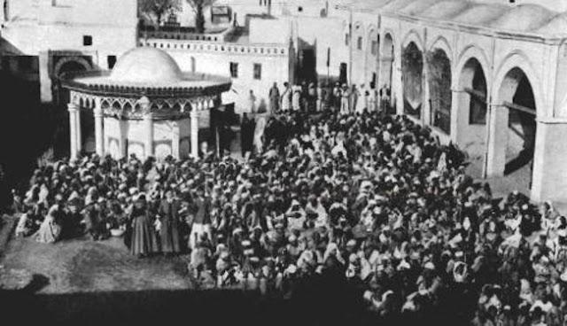التكية المصرية وقف محمد علي ـ المدينة المنورة 1908م