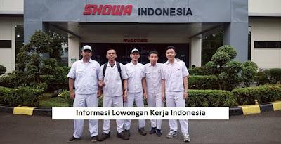 Iklan Loker Operator PT Showa Indonesia Manufacturing Cikarang