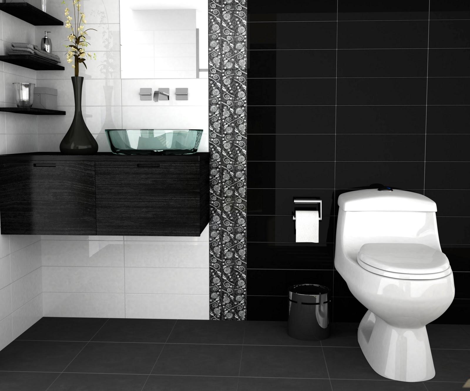 Interiorismo ba os modernos - Banos grises modernos ...