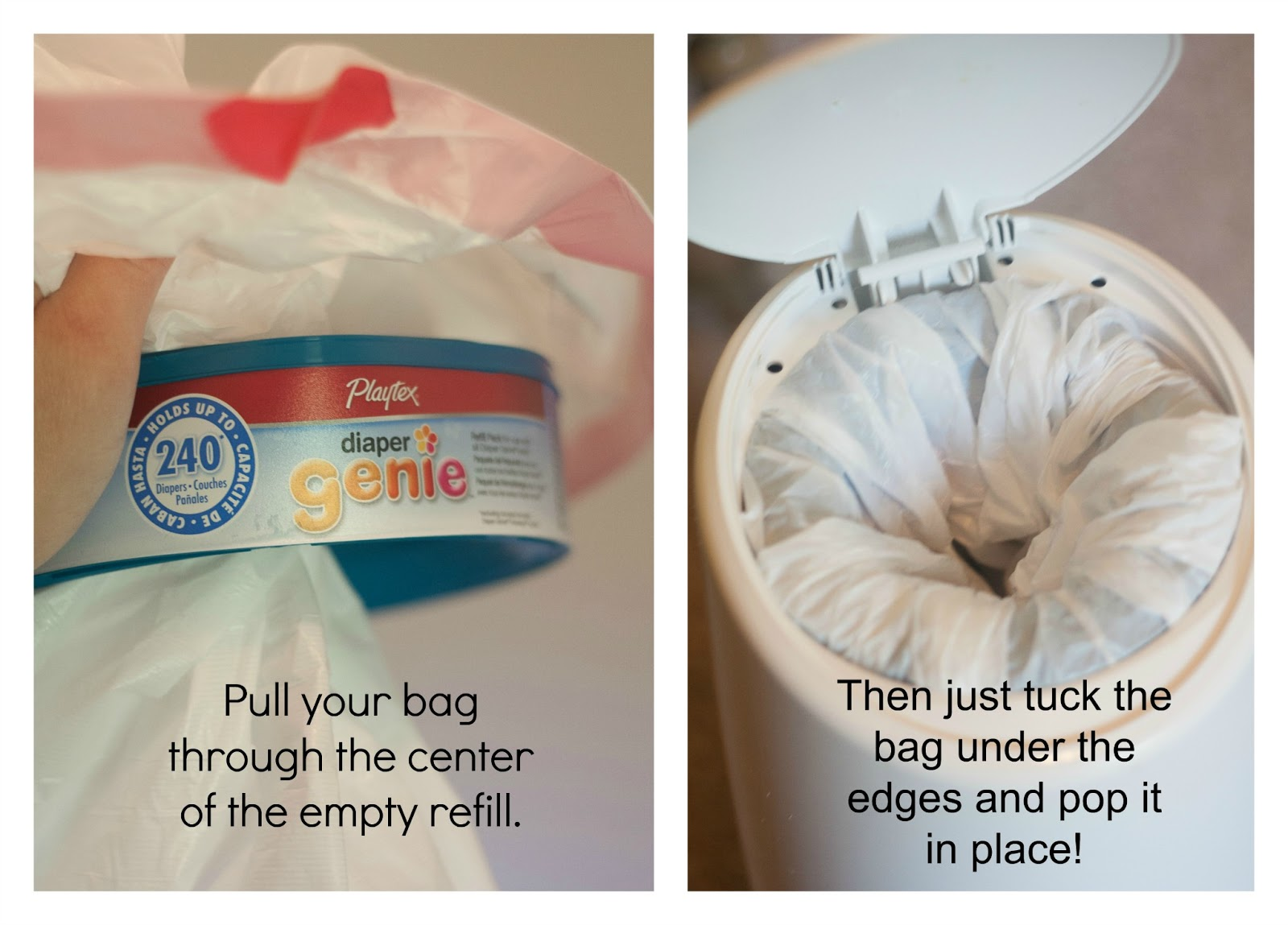 Refill Your Diaper Genie, Cheaper | Holding the World in a