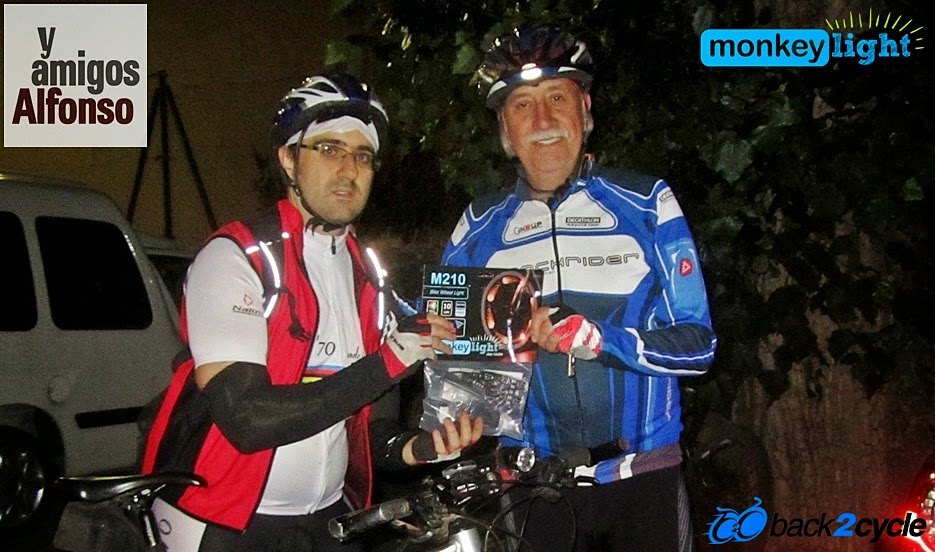 VII Ruta MTB Nocturna 2014 Alfonsoyamigos