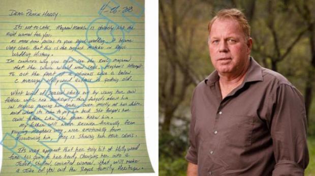 Prens Harry'e skandal mektup